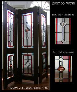 Biombo vitral