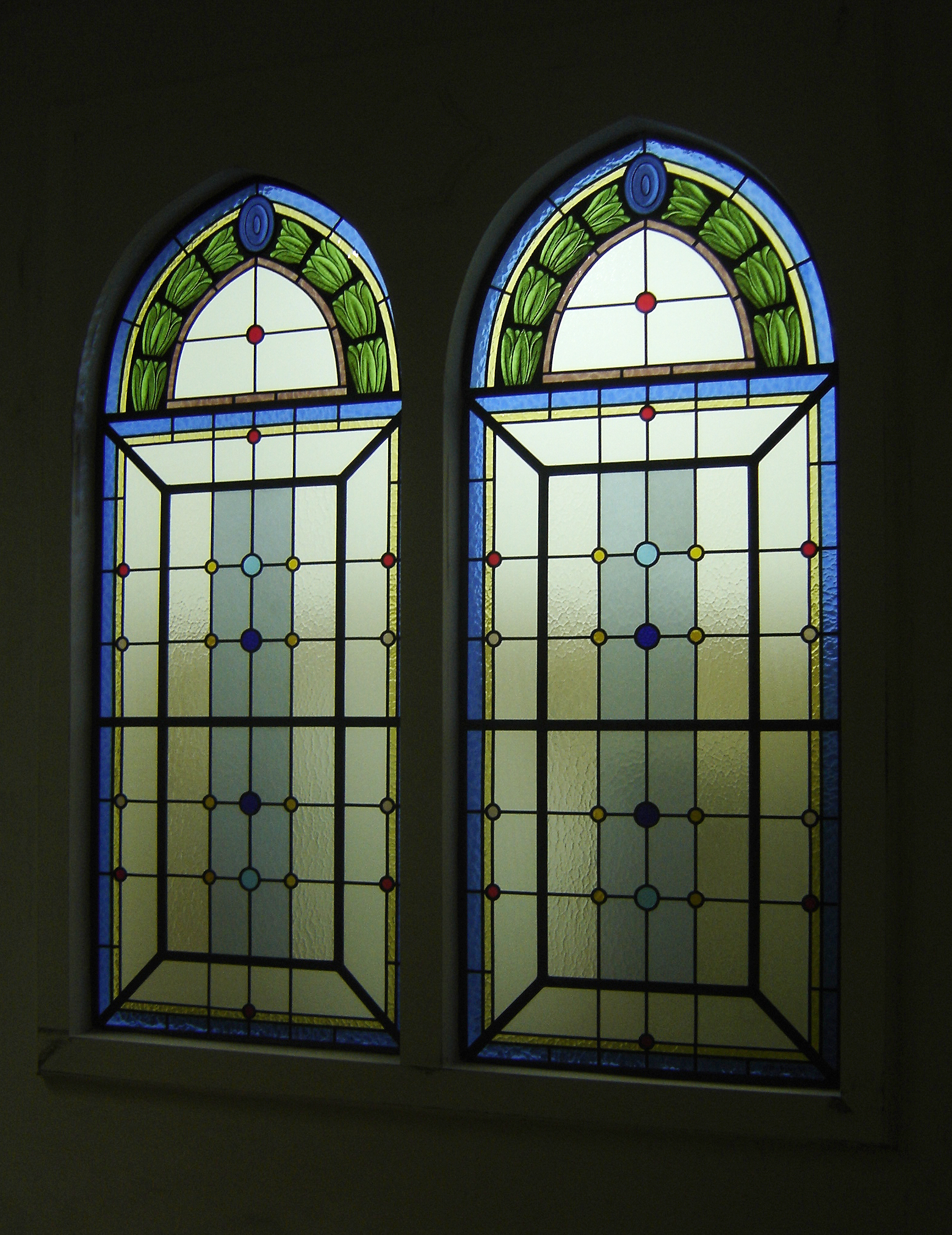 vitrais geométricos