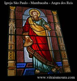 Vitral São Paulo - Mambucaba - RJ