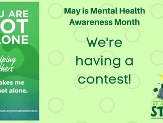 #WhatsOnYourMindWednesday...A Mental Health Awareness Month Giveaway Contest!
