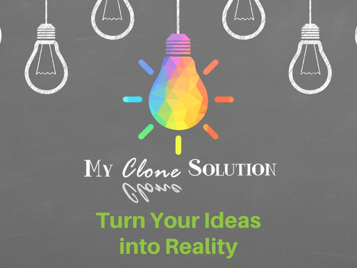 #WhatsOnYourMindWednesday... Turn Your Ideas Into Reality