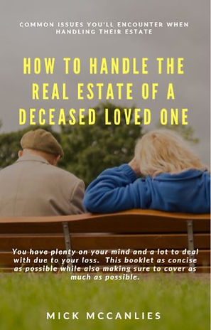 BOOK COVER 2  - HOW TO HANDLE THE REAL E