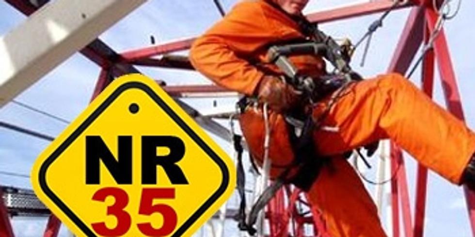 NR 35 - Curso Básico de Trabalho em Altura