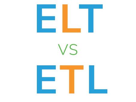 ELT vs. ETL for SISS