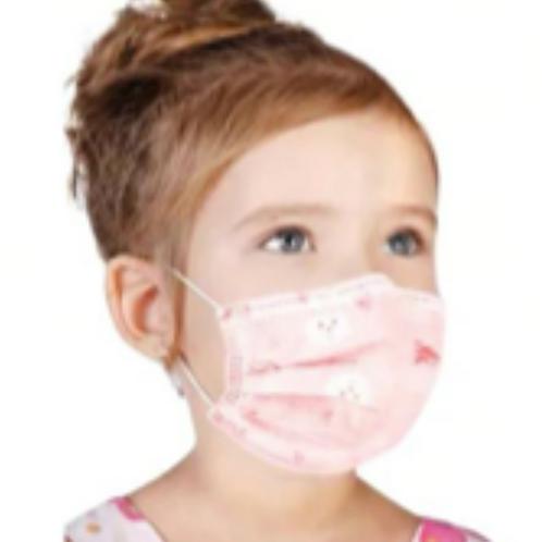 Masque de procédure 3 plis ENFANTS (NON MÉDICAL) -  Boîte de 50