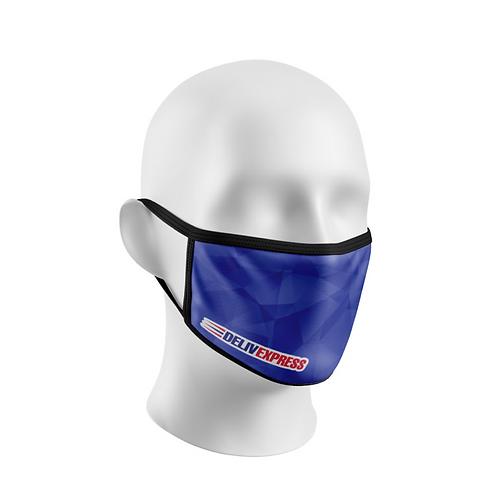 Masques sublimés réutilisables 1 épaisseur (Prix selon quantité)