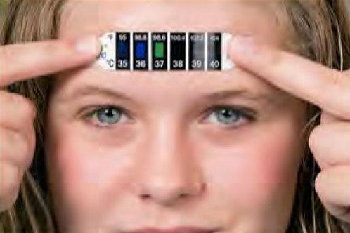 Thermomètre à cristaux liquide (Prix selon quantité)