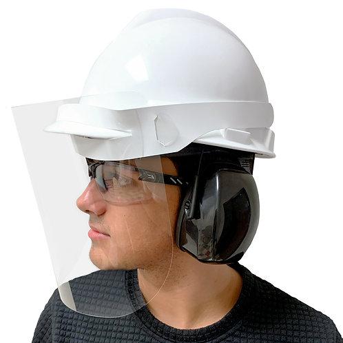 Visière protectrice pour casque de construction (Prix selon quantité)