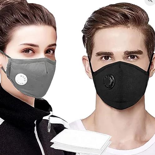 Masque réutilisable à filtration active PM2.5 (NON-MÉDICAL)