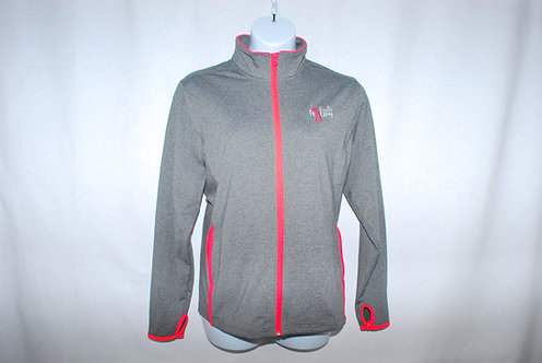 Sport-Tek: Ladies Sport-Wick® Stretch Contrast Full-Zip Jacket
