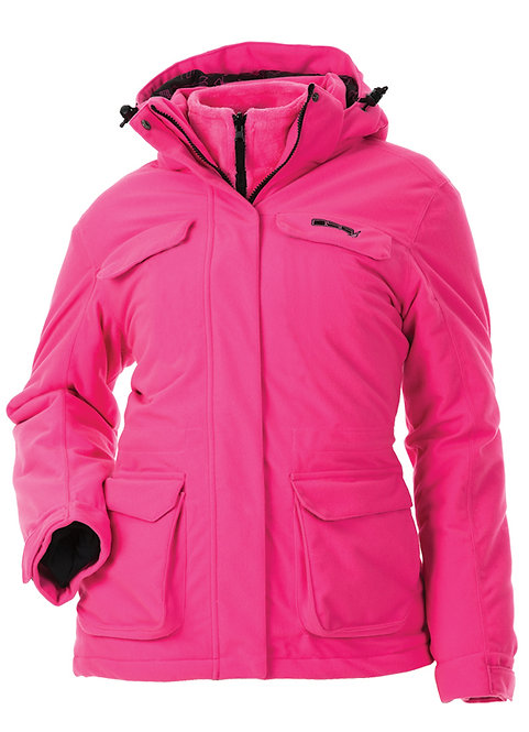 DSG Outerwear: Kylie 3.0 3-in-1 Blaze Hunting Jacket - with Removable Fleece Lin