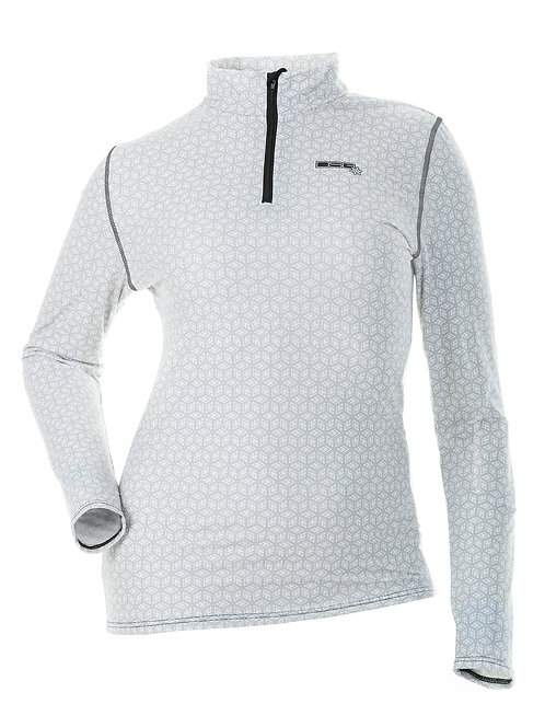 DSG Outerwear: D-Tech Base Layer Shirt - Black or White Snowflake