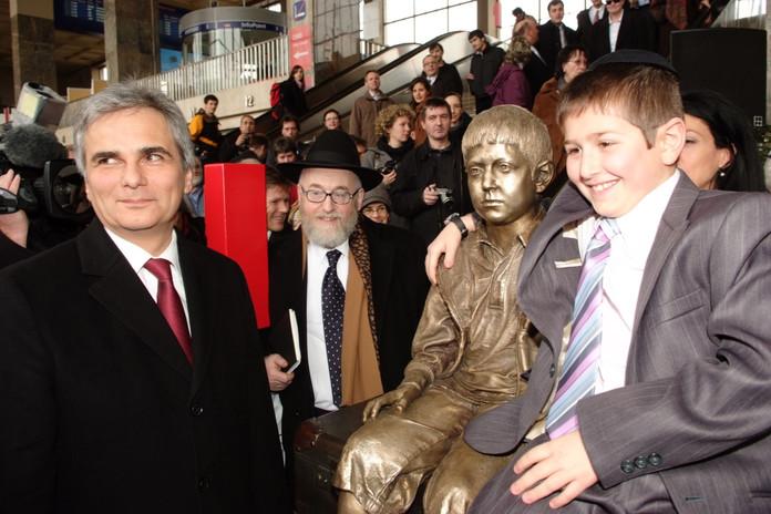 BM Werner Faymann, Chaim Eisenberg, Sam