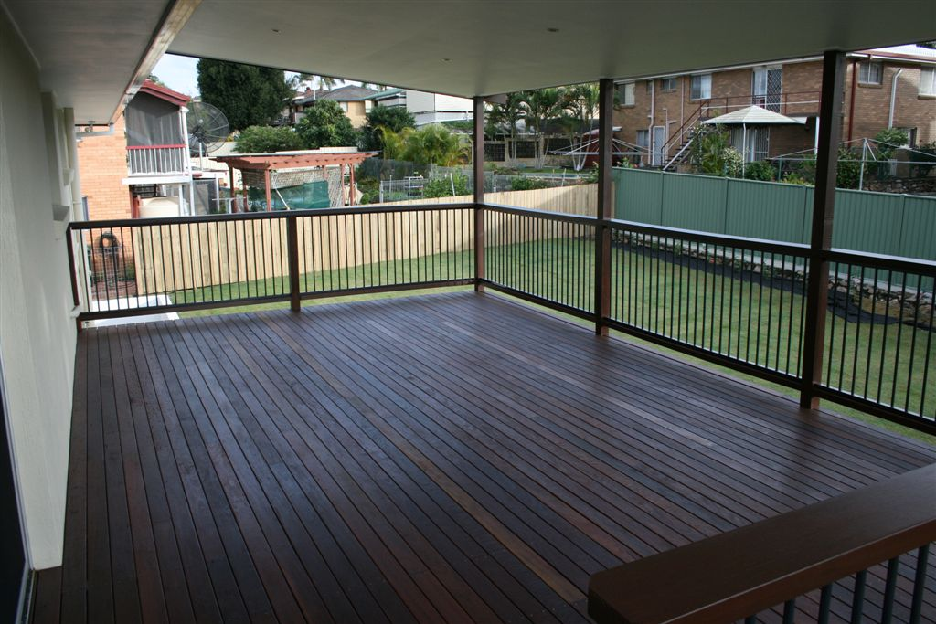 Powder coated balustrade