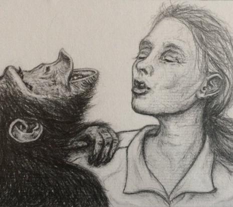 Jane with Chimp (study 1)