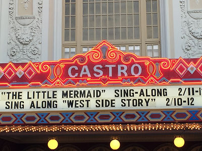 San Francisco by Gilles visite privée théatre Castro Theater Rainbow Flag Havey Milk homosexuel gay lesbienne lgbt glbt