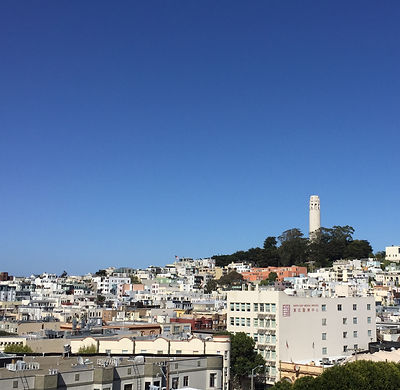 San Francisco by Gilles visite en francais North beach rooftop panoramique downtown nob hill chinatown russian hill Washington square