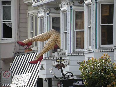 San Francisco by Gilles guide privé francais Haight Ashbury jambes gambettes