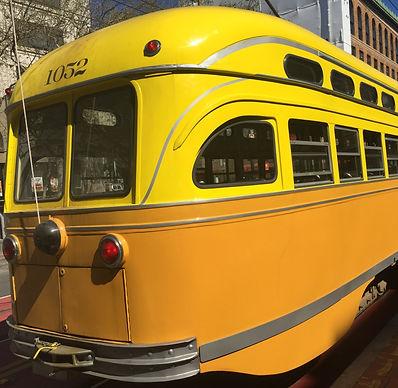 San Francisco by Gilles guide privé français tramway historique historic streetcar ligne F line