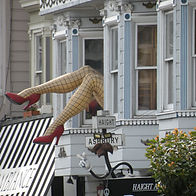 San Francisco by Gilles visite francophone gambette haight ashbury hippy hippie