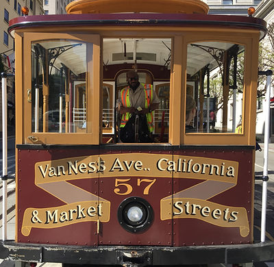 San Francisco by Gilles visite collective Musée du Cable Car Museum California line