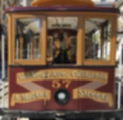 San Francisco by Gilles visite privée Cable Car Museum Musée California Market Van Ness Ave Gripman