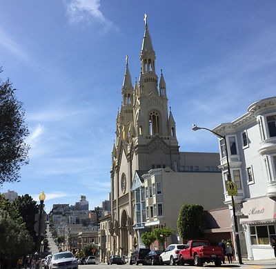 San Francisco by Gilles visite en francais Washington Square restaurants italiens north beach