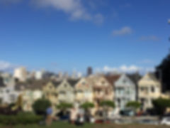 San Francisco by Gilles guide privé français alamo square painted ladies maisons victoriennes downtown