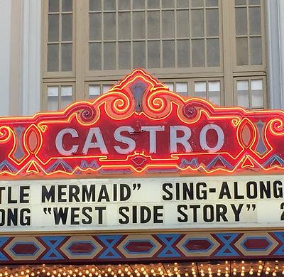 San Francisco by Gilles guide privé français castro theatre theater rainbow flag gay lgbt glbt lesbienne
