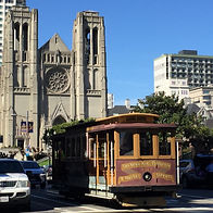 San Francisco by Gilles visite guidée collective en groupe de Nob Hill avec un balade en Cable Car