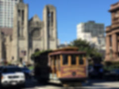 San Francisco by Gilles visite collective nob hill baie musée du cable car museum