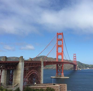 San Francisco by Gilles visite en francais promenade sur le golden gagte bridge
