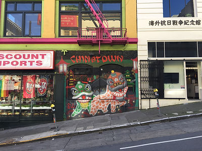 San Francisco by Gilles visite privative Chinatown Street Art et North Beach