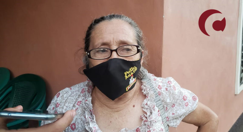 Doña Lucinda Chacón remains firm in opposition to the Ingelsa company crystallizing its hydroelectric project on the Jilamito River.