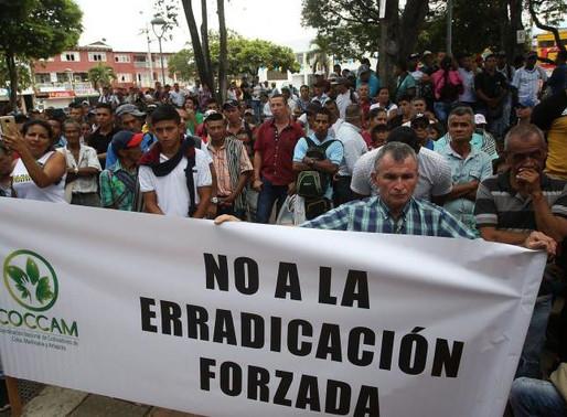 Forced Eradications Continue Despite COVID-19 Crisis