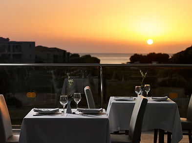 Kolymbia Star restaurant view