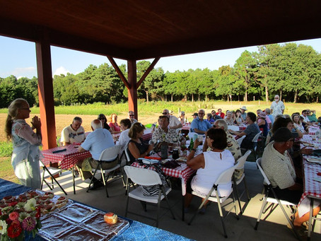 Farms, Food, and Friends Dinner held on August 26, 2018