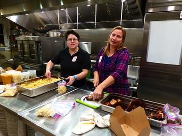 Chef Caroline and Julie