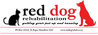 Red Dog Rehabilitation provides personalised rehabilitation for your pet and animal