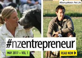 Pet Life owners were showcased in The NZ Entrepreneur Magazine