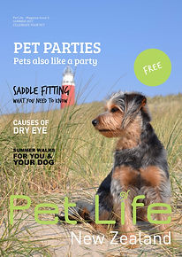 Cover of free animal magazine in NZ