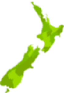Map of New Zealand showing where your free animal magazine is found