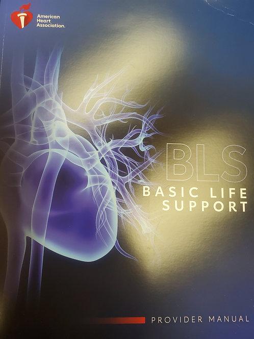 2020 BLS (Basic Life Support) Provider Manual