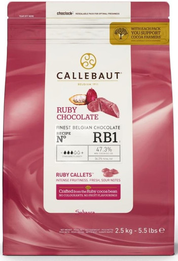 Callebaut Ruby Coverture