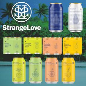 Strangelove Sparkling Water Cans