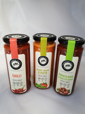 Passion Pasta Sauce available in a range of 465g jars