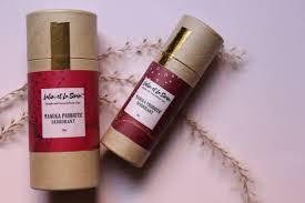 Lalin et la Siren compostable skincare packaging