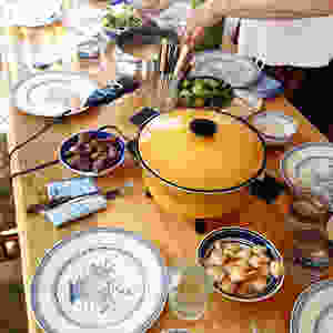 Fondue at home