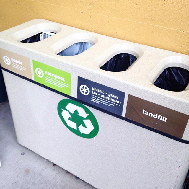 Compost bin at coop