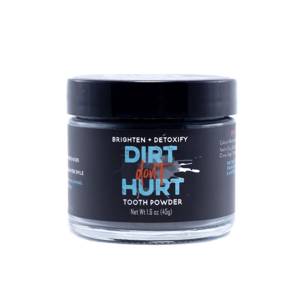 Dirt Don't Hurt Me tooth powder